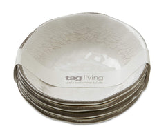 Tag - Veranda Melamine Bowl, Durable, BPA-Free and Great for Outdoor or Casual Meal
