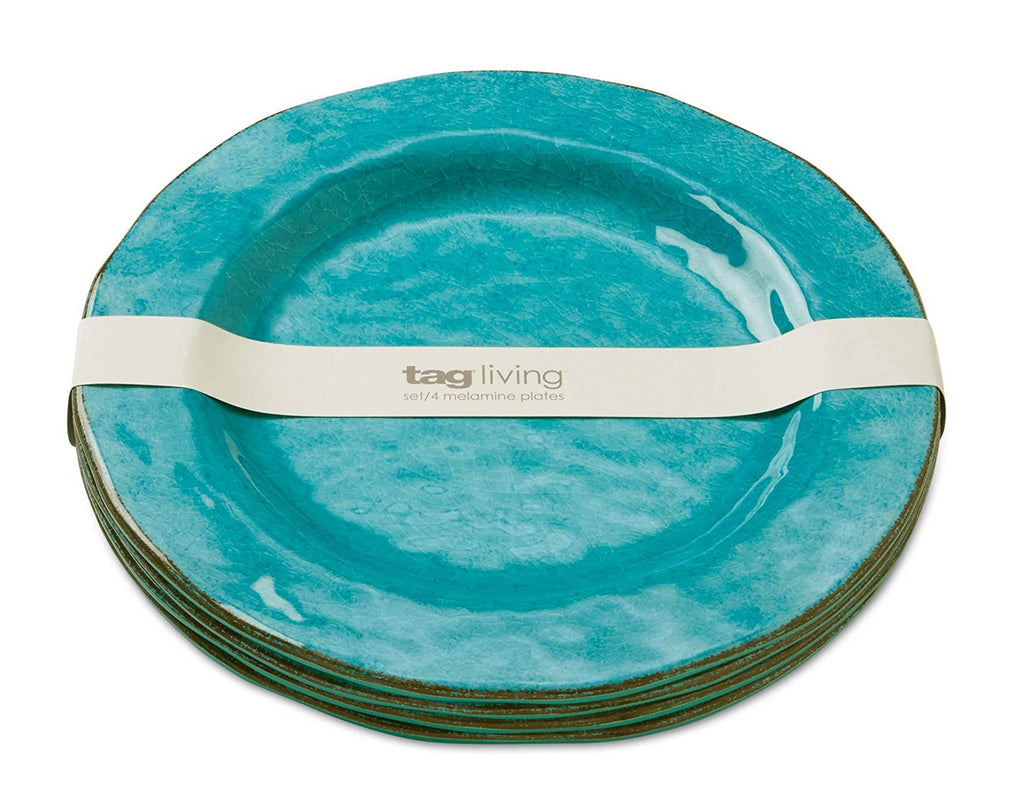 Tag - Veranda Melamine Dinner Plate, Durable, BPA-Free and Great for Outdoor or Casual