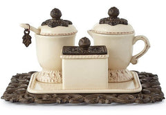 GG Collection Creamer/Sweetener Set On Tray