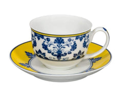 Vista Alegre Castelo Branco Coffee Cup and Saucer [Set of 4]
