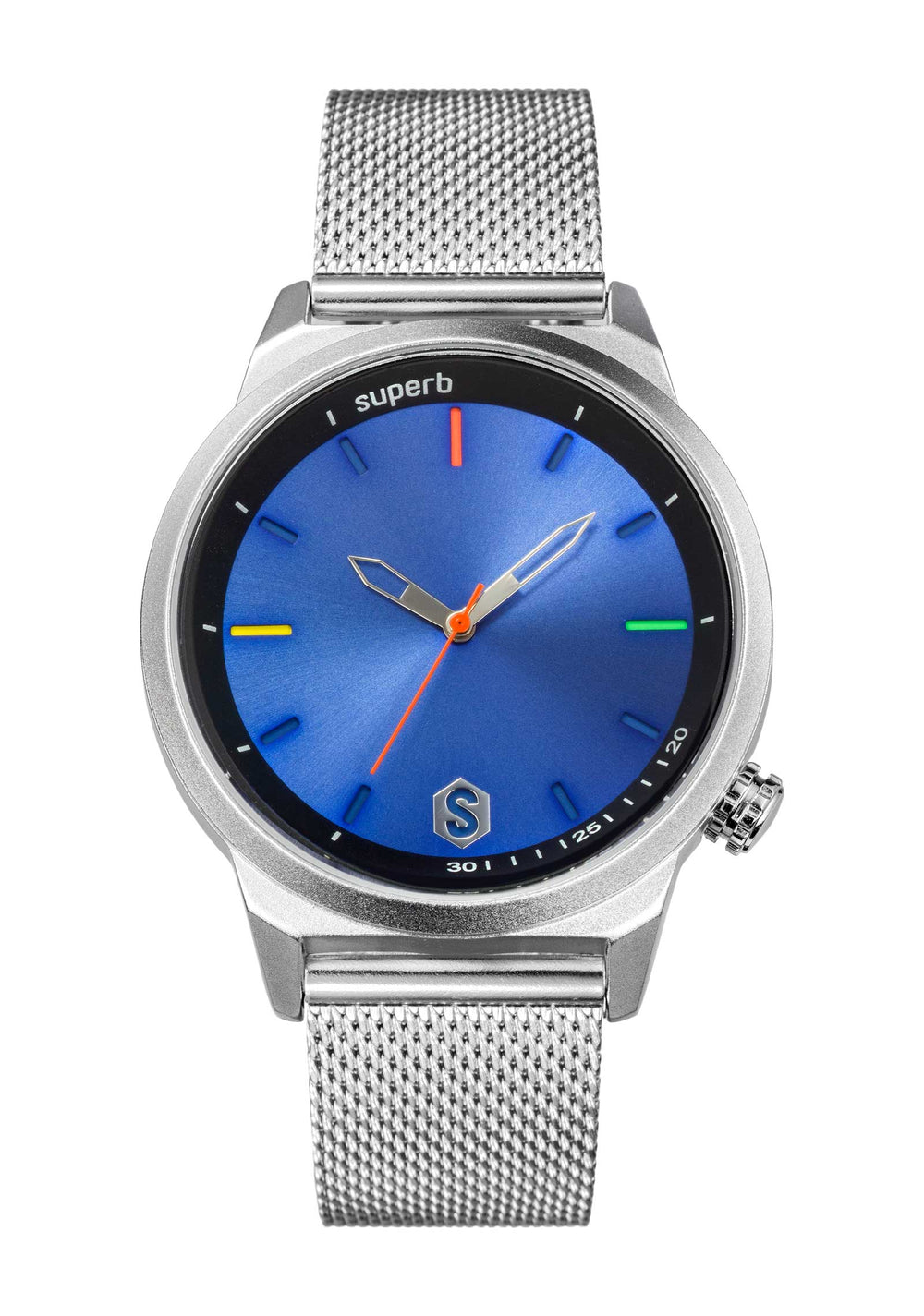 Reloj Superb Goa Spirit Steel Sea. Colección con un diseño elegante y con el sello Superb: ¡El color!.