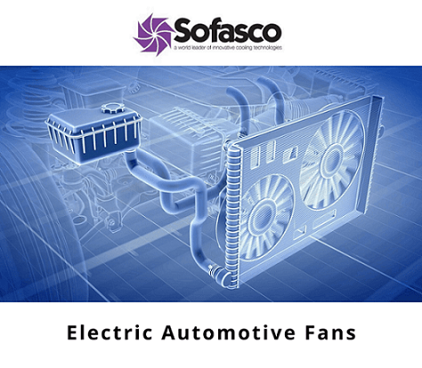 Electric Automotive Fans, Axial Fans, and Blowers for the Automotive Industry