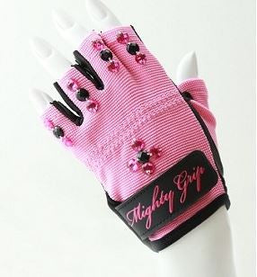 *SALE* MG ORIGINAL TACK Gloves- Pink Bling