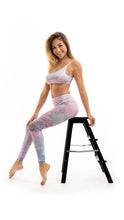 Load image into Gallery viewer, Pastel Illusions Sports Bra