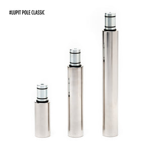 LUPIT POLE - CLASSIC G2 CHROME 42MM OR 45MM PORTABLE DANCE POLE