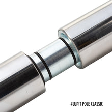 Load image into Gallery viewer, LUPIT POLE - CLASSIC G2 CHROME 42MM OR 45MM PORTABLE DANCE POLE