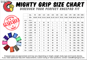 MG OG Tack Kneepads - SHORT *SUPER STICKY* COLORS!