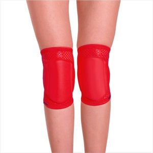 Queen Wear- Red Sin Grip Knee Pads