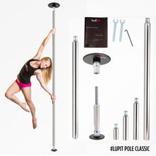 Load image into Gallery viewer, LUPIT POLE - CLASSIC G2 POWDER COATED 45MM PORTABLE DANCE POLE