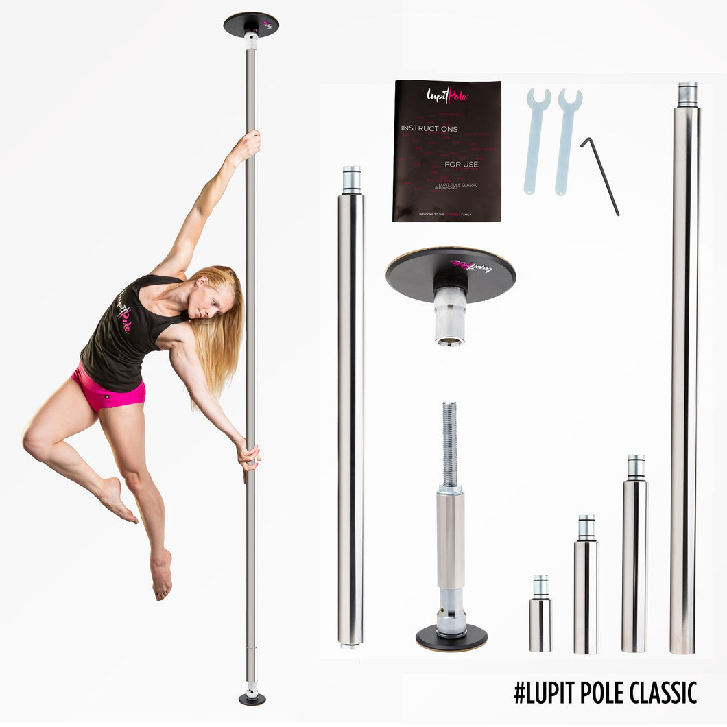 LUPIT POLE CLASSIC, STAINLESS STEEL, 45mm