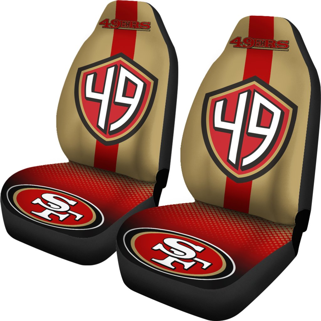 San Francisco 49ers Car Seat Covers Set Of 2