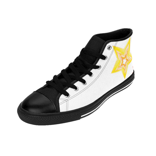 Star & Circle Men's High-top Sneakers