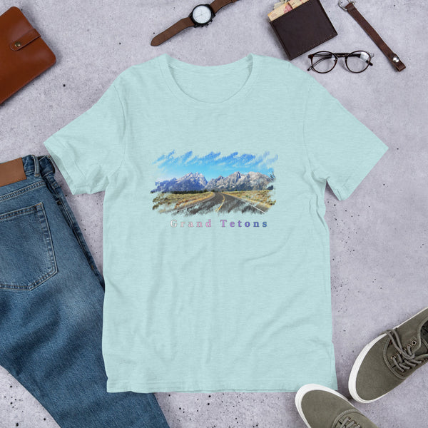 Grand Teton Short-Sleeve Unisex T-Shirt