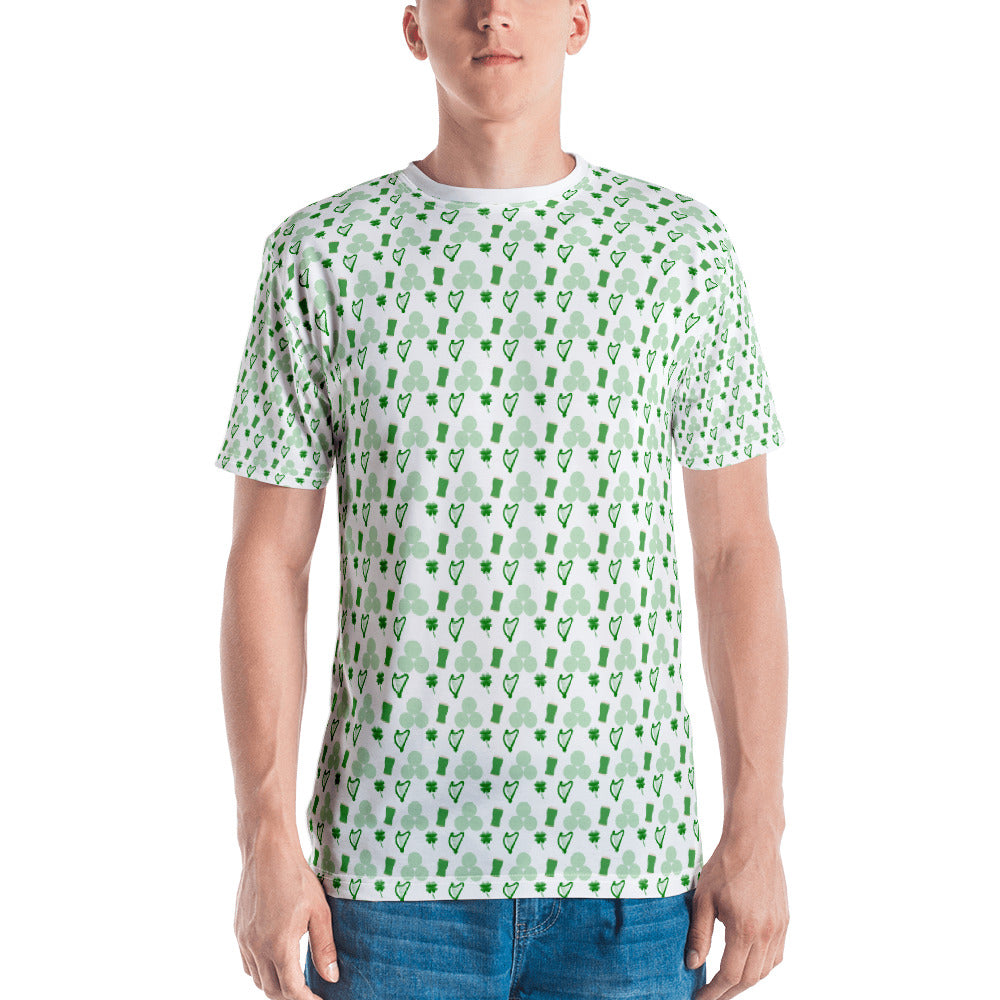 Irish Symbols Men's T-shirt
