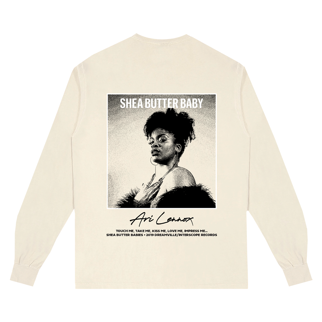 Ari Lennox - Long Sleeve - Tan