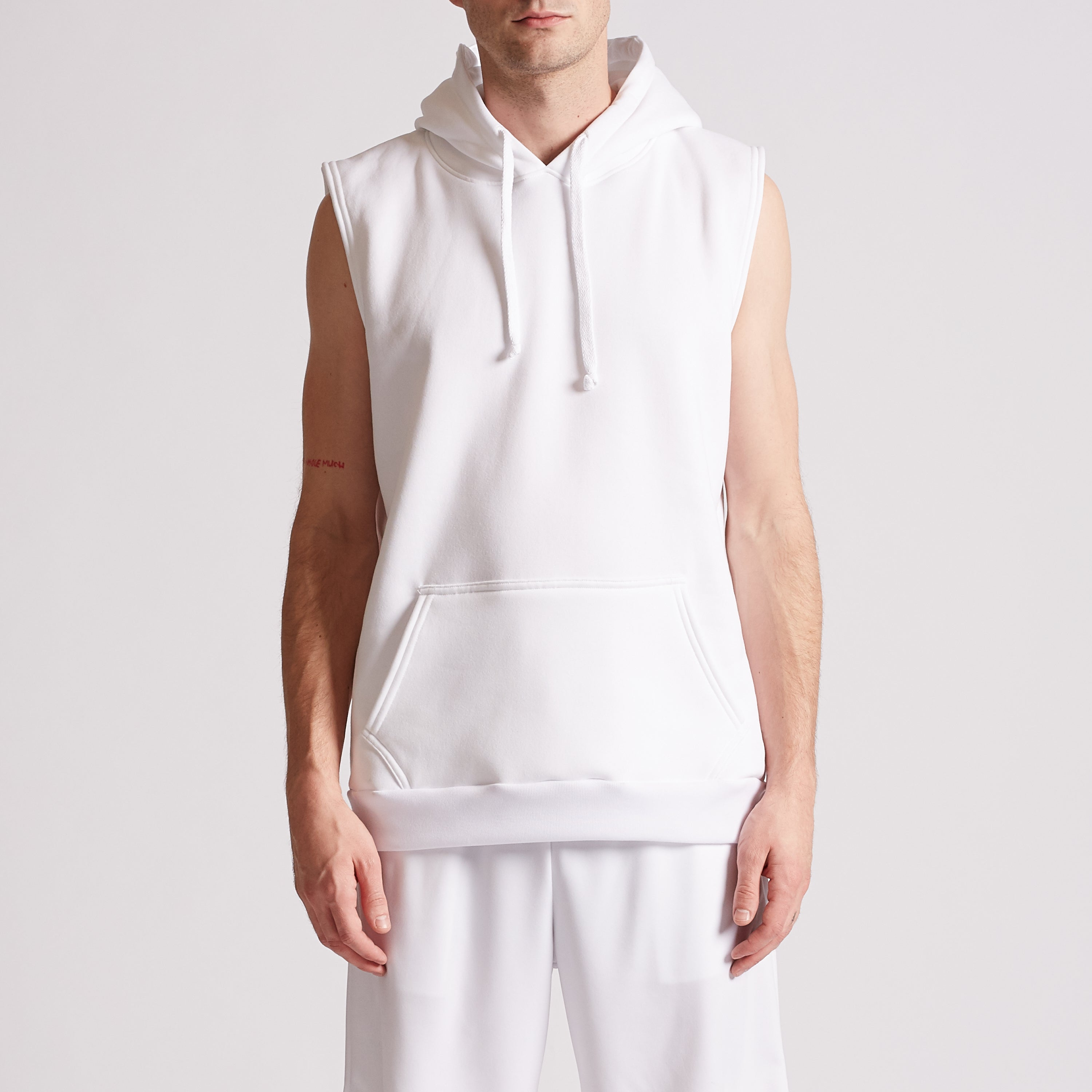 Pullover Sleeveless Hoodie, Style #329