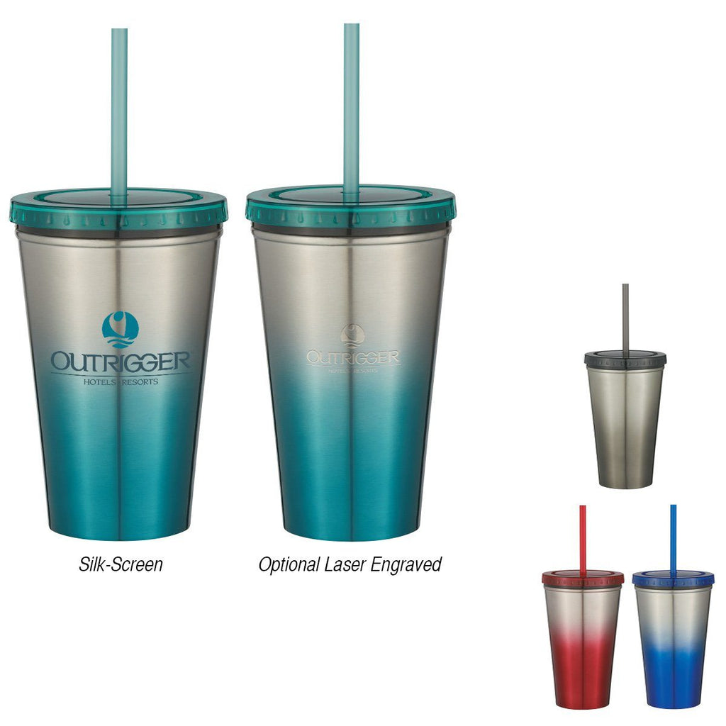 16 Oz. Chroma Stainless Steel Tumbler Drinkware Hit Promotional Products