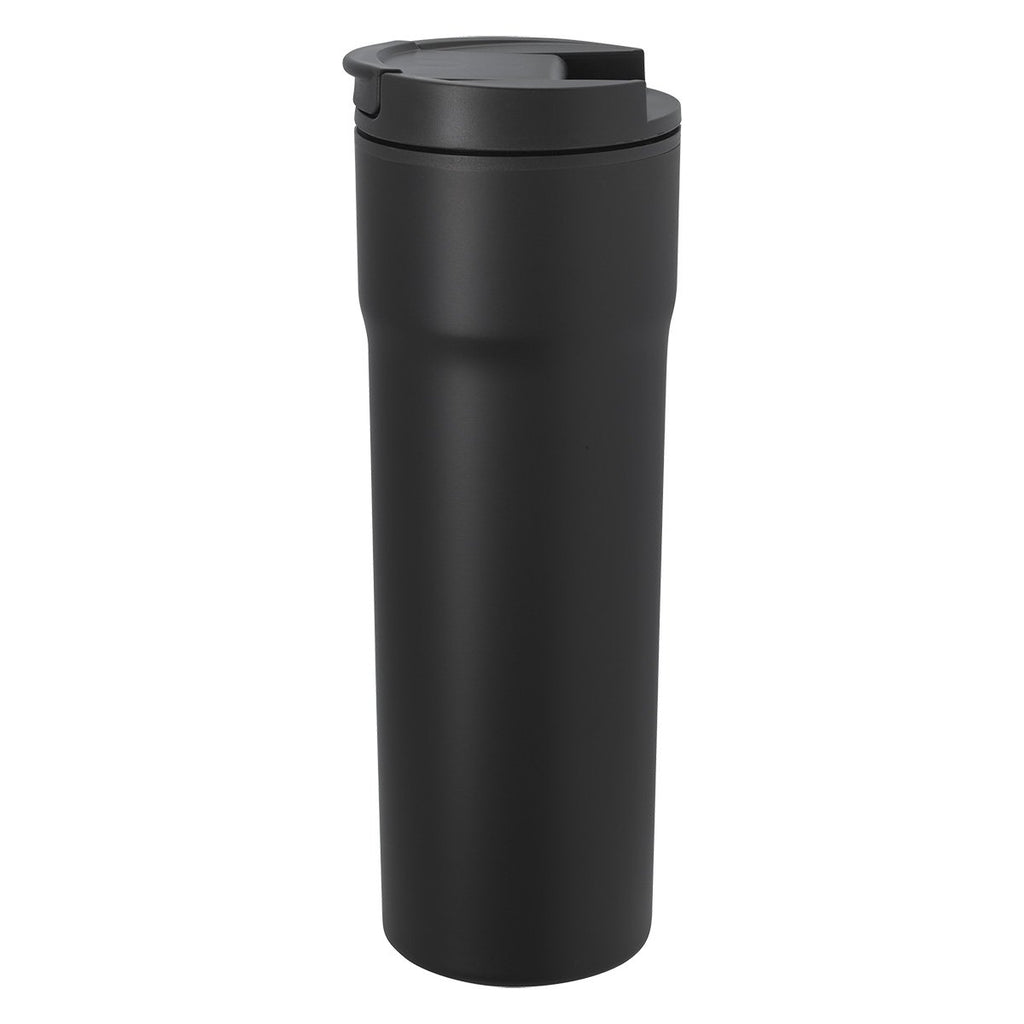 16 Oz. Segel Raven Stainless Steel Tumbler Drinkware Hit Promotional Products Matte Black
