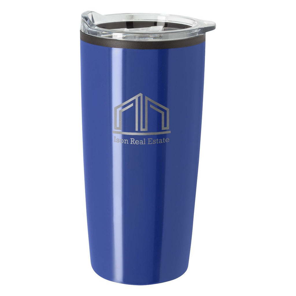 20 Oz. Elate Himalayan Tumbler Drinkware Hit Promotional Products Blue