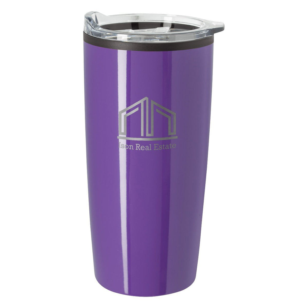 20 Oz. Elate Himalayan Tumbler Drinkware Hit Promotional Products Purple