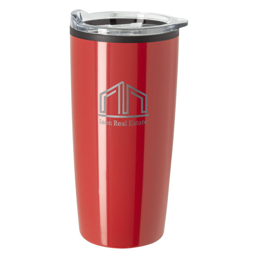 20 Oz. Elate Himalayan Tumbler Drinkware Hit Promotional Products Red