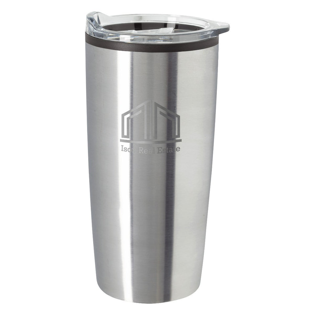 20 Oz. Elate Himalayan Tumbler Drinkware Hit Promotional Products Silver