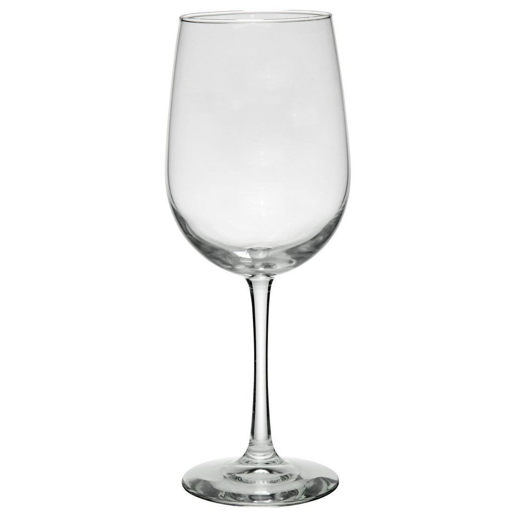 19 Oz. Tall Wine Glass Drinkware Hit Promotional Products Clear