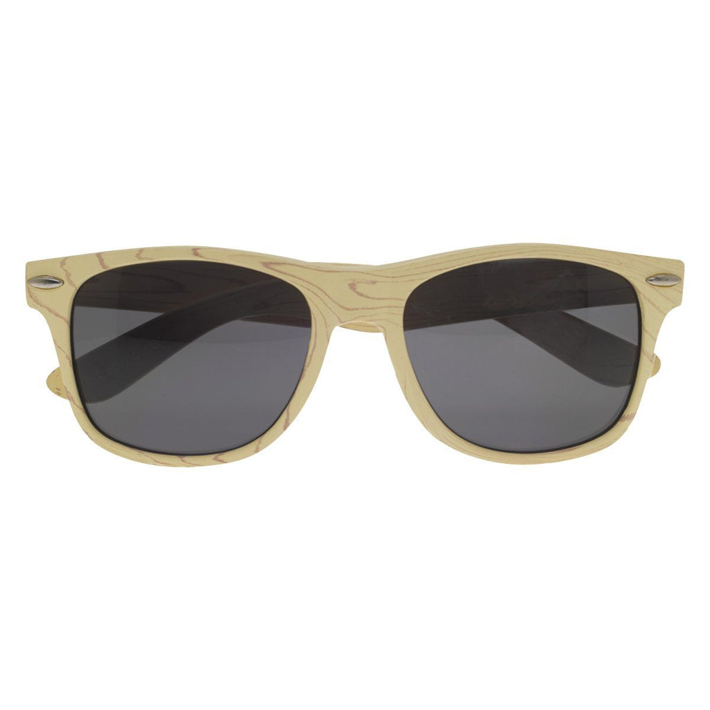 Designer Collection Woodtone Malibu Sunglasses Sunglasses Hit Promotional Products Wood Brown