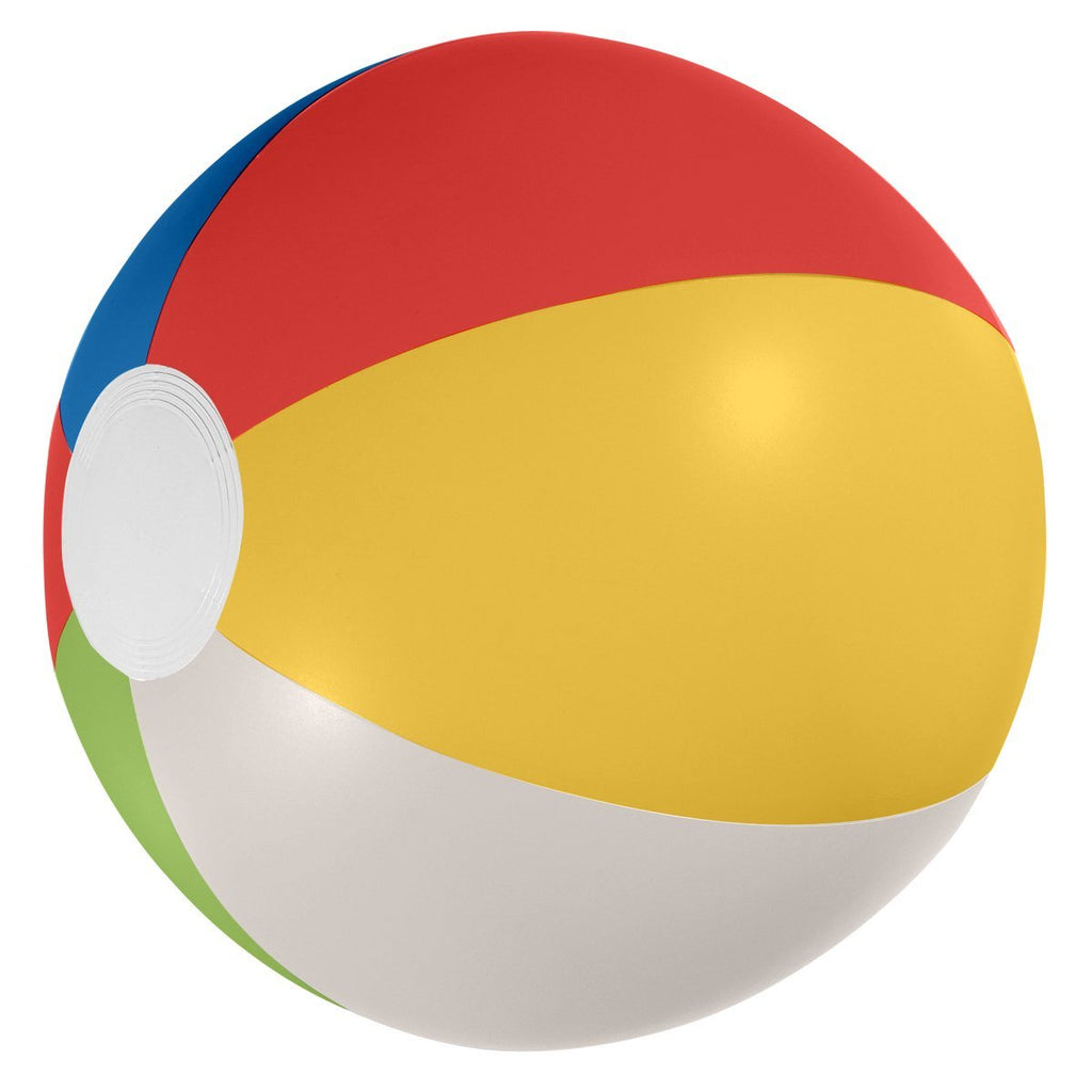 "12"" Beach Ball Plush & Novelties Hit Promotional Products Multi Color"