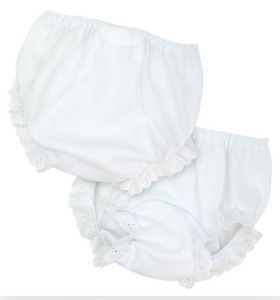 Monogrammed Double Seat Diaper Cover