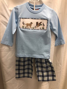 Dog and Duck 2 pc Outfit
