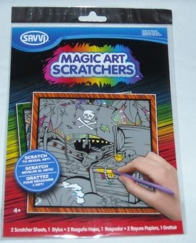 Magic Art Scratchers