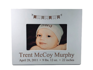 Keepsake Baby Picture Frame
