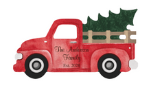 Load image into Gallery viewer, Truck W/tree Sign