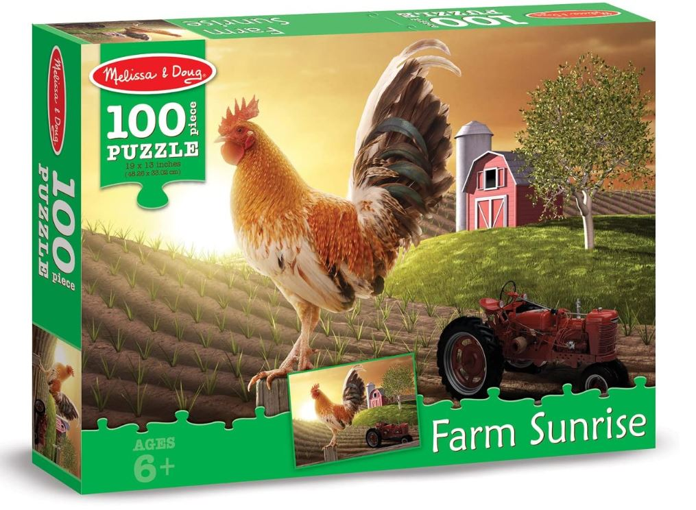 Melissa & Doug Farm Sunrise Puzzle