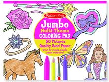Load image into Gallery viewer, Melissa & Doug Jumbo Coloring Pad