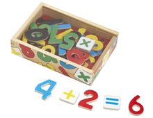 Load image into Gallery viewer, Melissa & Doug Wooden Number Magnets