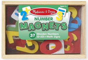 Melissa & Doug Wooden Number Magnets