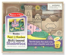 Load image into Gallery viewer, Melissa & Doug Paint By Numbers Shadowbox