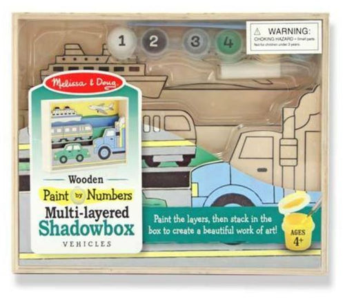 Melissa & Doug Paint By Numbers Shadowbox