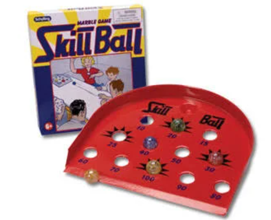 Skill Ball Marble Game