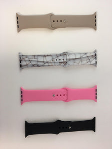 Personalized Silicone Watch Band for Apple Watch (38-40)