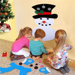 DIY Felt Christmas Snowman Set - Children's Favorite Gift