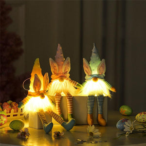 🧙‍♂ Gnome Bunny Lights (Easter Decoration)