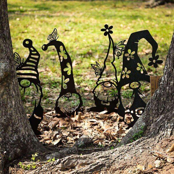 🧙‍♂ Lovely Steel Branch Gnomes ( 💐 spring Decoration)