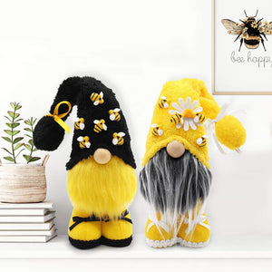 🐝  BeeGonk - Lovely Bumblebee gnomes - 2 pcs