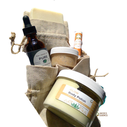 Holiday Cleanse, Exfoliate, Moisturize Bundle