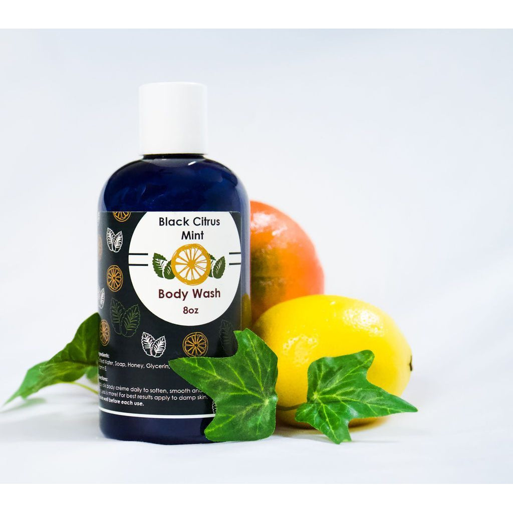 Black Citrus Mint Body Wash