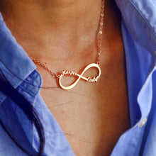 Load image into Gallery viewer, Infinity Name Necklace for Women