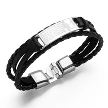Load image into Gallery viewer, Custom Braided Titanium Steel Bracelet